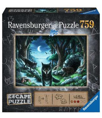 Ravensburger Curse of the Wolves Escape Puzzle