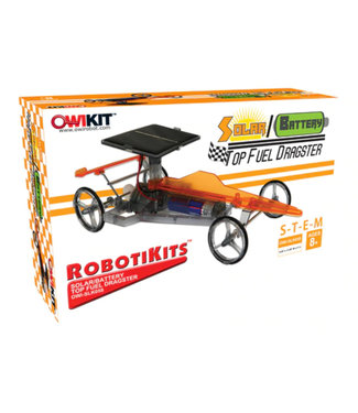 OWIKIT Solar/Battery Top Fuel Dragster