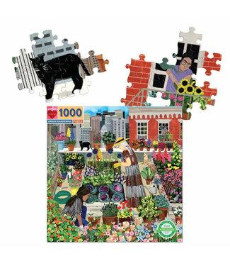 eeBoo Urban Gardening- 1000 Piece Puzzle