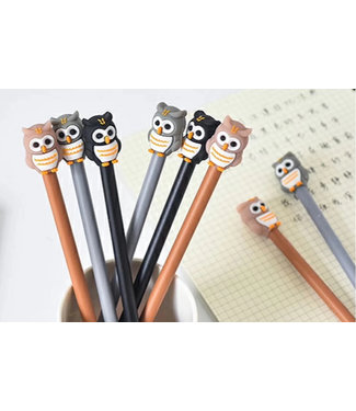 BC USA Owl Gel Pen