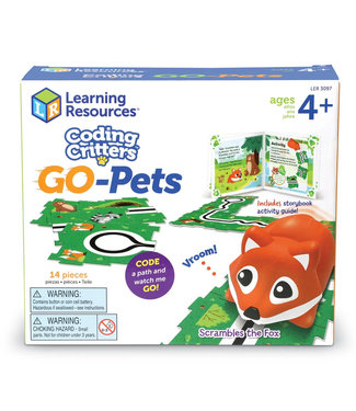 Learning Resources Go-Pets: Scrambles the Fox