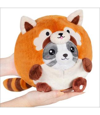 "Squishable Undercover Panda in Red Panda - 7"""