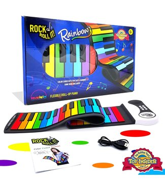 Mukikim Rock and Roll It Piano - Rainbow