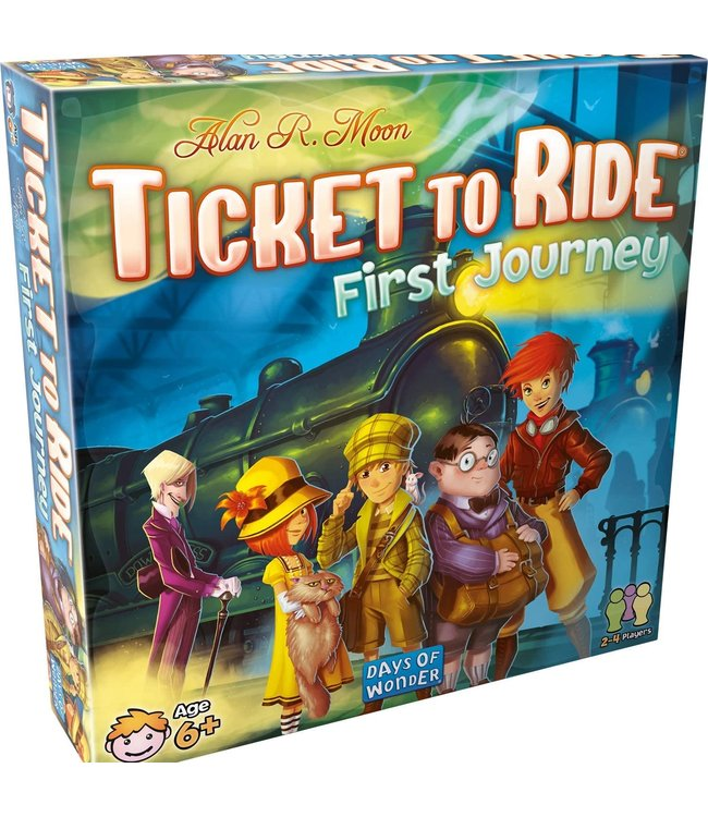 Asmodee Ticket to Ride: First Journey