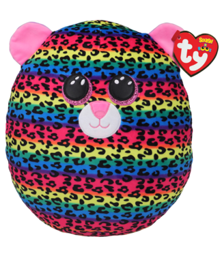 TY Dotty - Leopard Multi Squish 12""