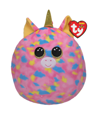 TY Fantasia - Unicorn Multi Squish 12""