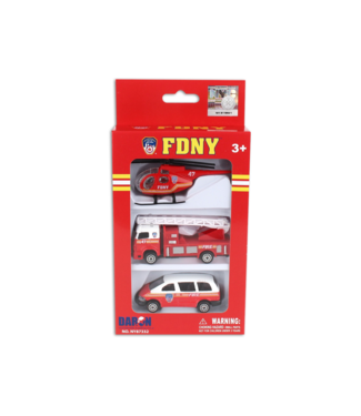 Daron FDNY 3 Piece Vehicle Set