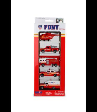 Daron FDNY 5 Piece Vehicle Gift Set