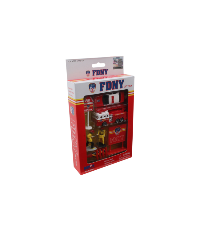 Daron FDNY 10 Piece Gift Set