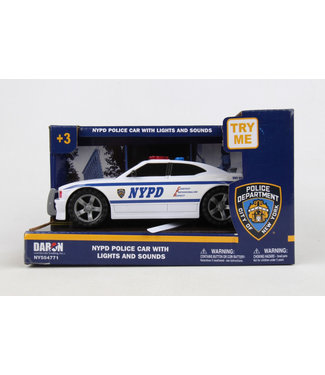 Daron NYPD Police Car w/lights & sound