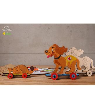 Ugear Kitten & Puppy Color Model
