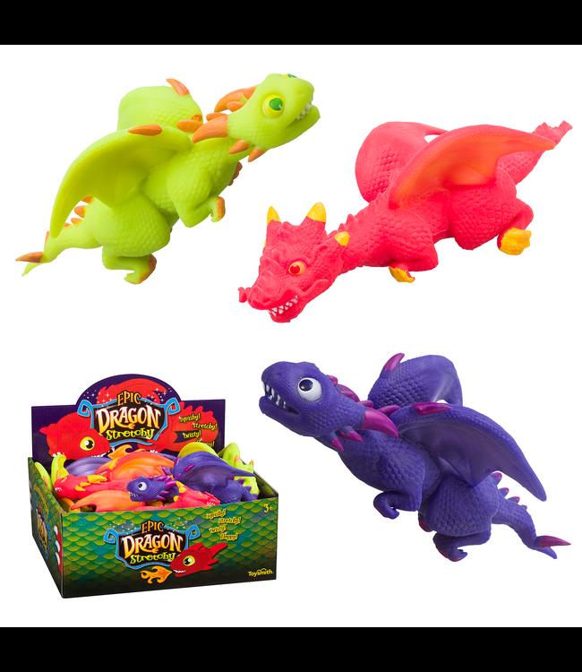 Toysmith Epic Dragon Stretchy