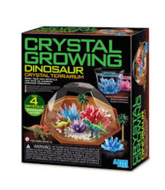 Toysmith Crystal Growing Dinosaur Terrarium