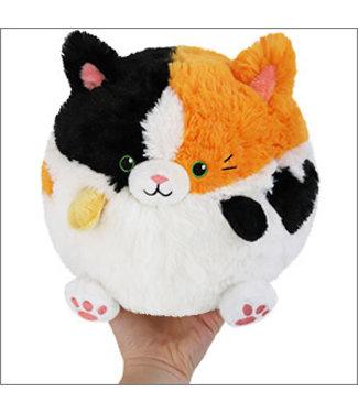 """Squishable Mini Calico Cat - 7"""""""