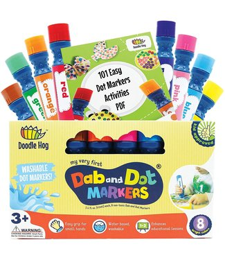 Doodle Hog Dab and Dot Markers Set