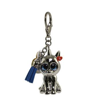 TY Silver - Unicorn Mini Boos  Collectible Clip