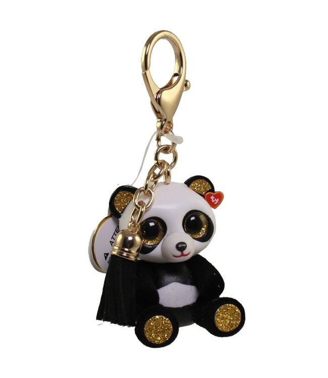 TY Chi - Panda Mini Boos Collectible Clip