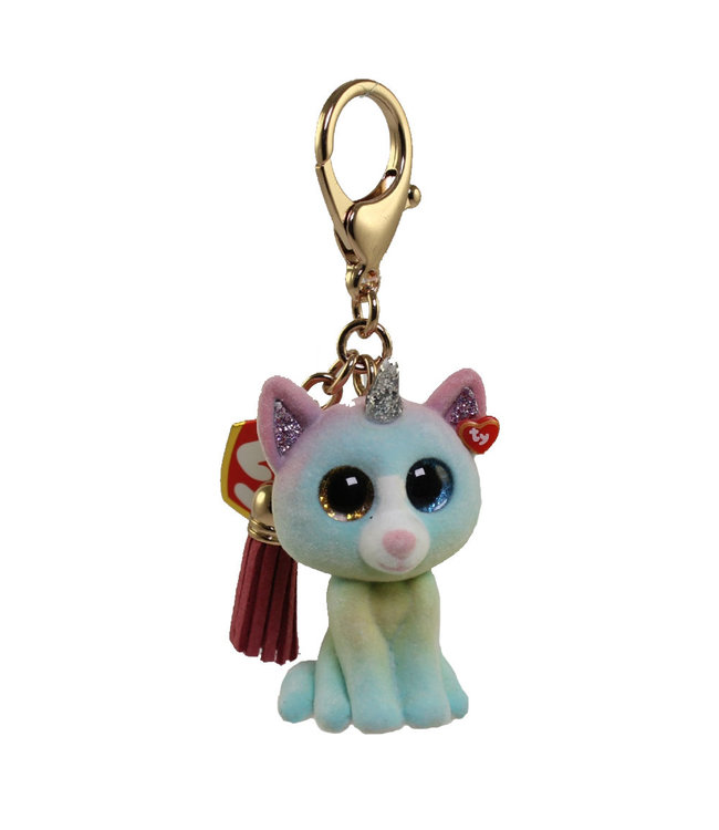 TY Heather - Cat Mini Boos Collectible Clip