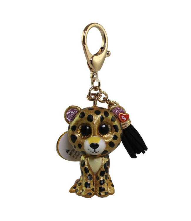 TY Sterling - Leopard Mini Boos Collectible Clip