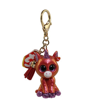 TY Sunset - Unicorn Mini Boos Collectible Clip