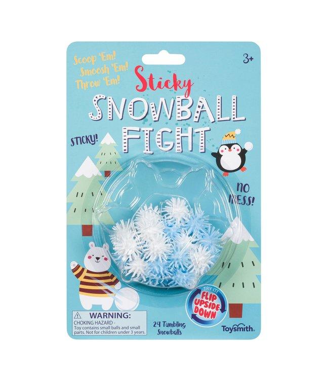 Toysmith Sticky Snowball Fight
