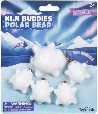 Toysmith Kiji Buddies Polar Bear