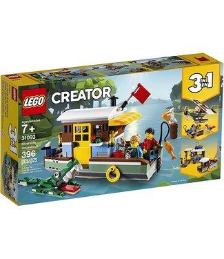 LEGO Riverside Houseboat 3-in-1 - 31093