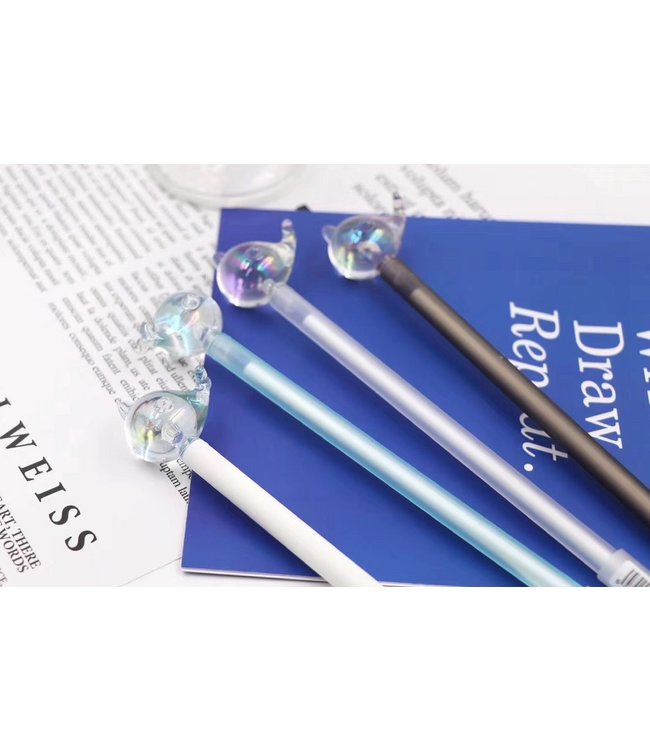BC USA Crystal Narwhal Gel Pen