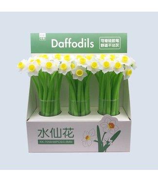 BC USA Daffodils Gel Pen