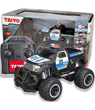 Thin Air Mini RC Police Truck