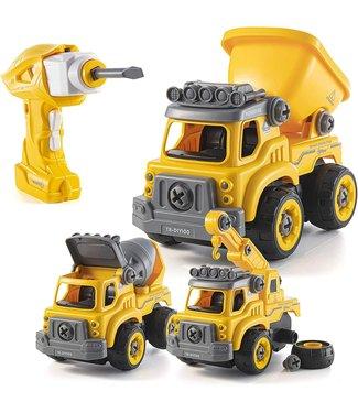 Top Race RC Construction Truck - DIY