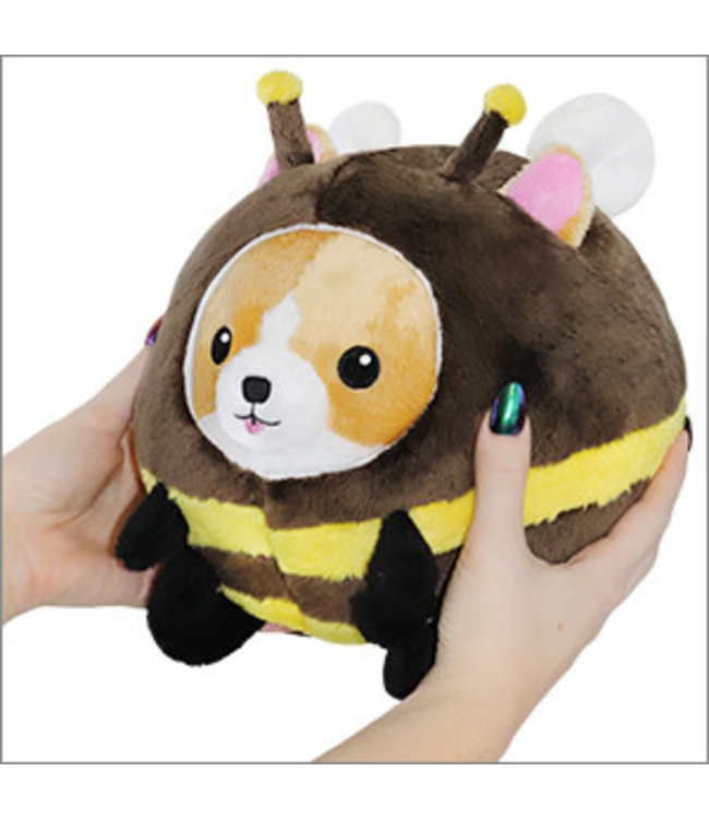 "Squishable Undercover Corgi in Bee - 7"""