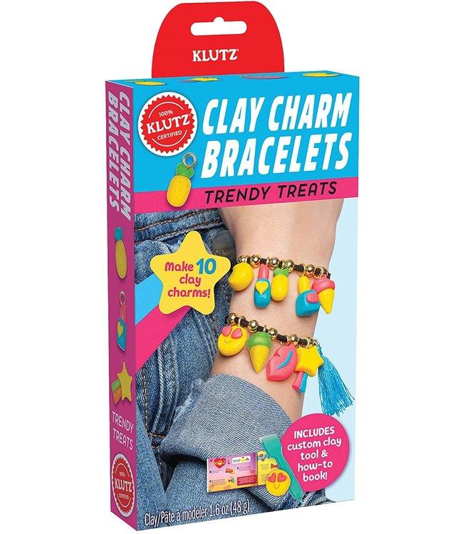 Klutz Clay Charm Bracelets- Trendy Charms