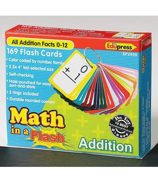 edupress Math in a Flash Cards, Addition