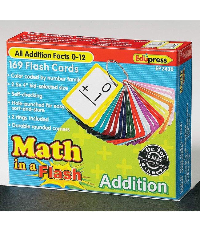 edupress Math in a Flash Cards, Addition