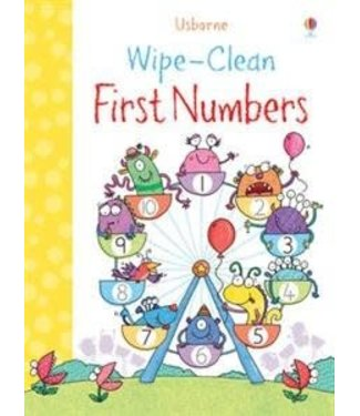 Usborne Wipe-clean First Numbers