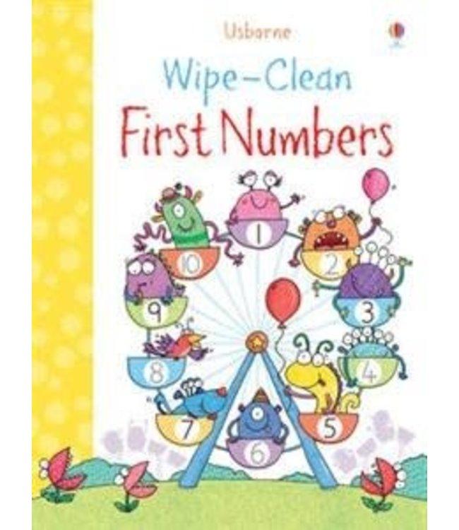 Usborne Wipe-clean First Numbers