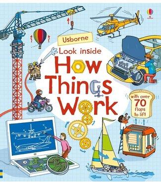 Usborne Look Inside How Things Work