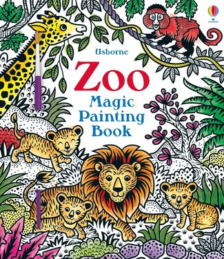 Usborne Magic Painting Book Zoo