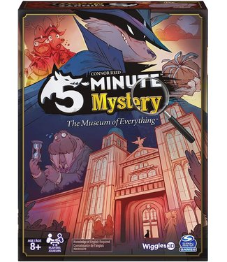Spinmaster 5-Minute Mystery The Museum of Everything Game