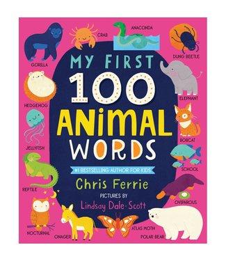 Sourcebooks My First 100 Animal Words