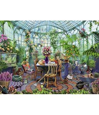 Ravensburger Greenhouse Mornings - 500 pc