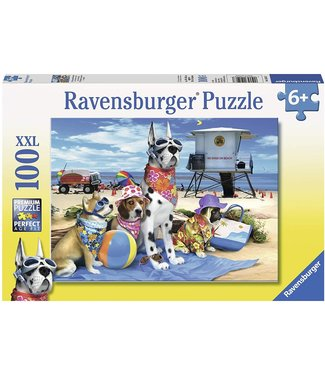 Ravensburger No Dogs on the Beach Puzzle -100pc