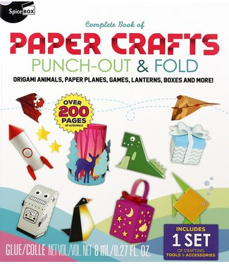SpiceBox Complete Book of Paper Crafts