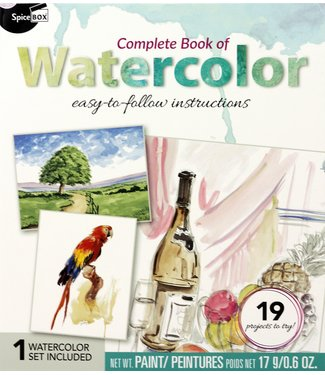 SpiceBox Complete Book of Watercolor