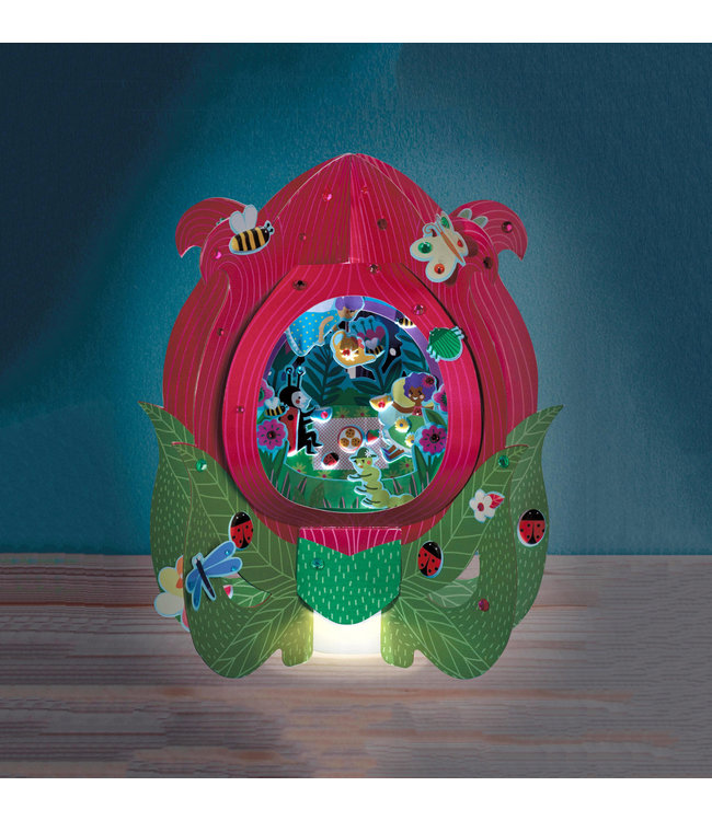 Bright Stripes DIY Lantern Lands - Fairy Flower Party
