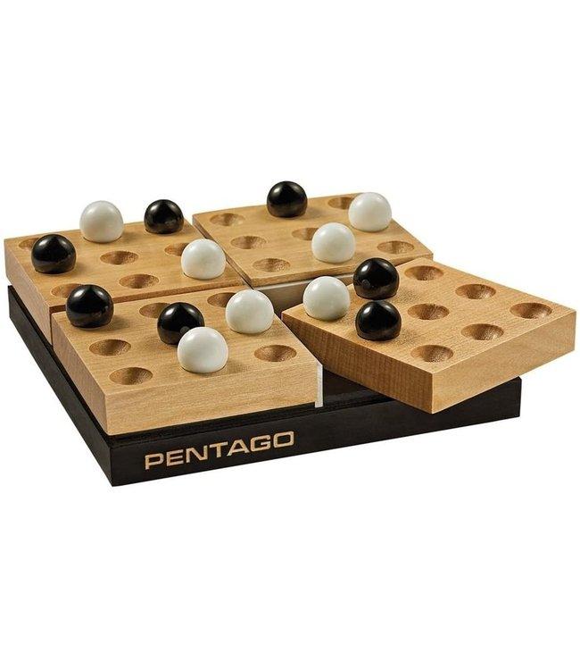 Continuum Games Pentago Classic Wood Game