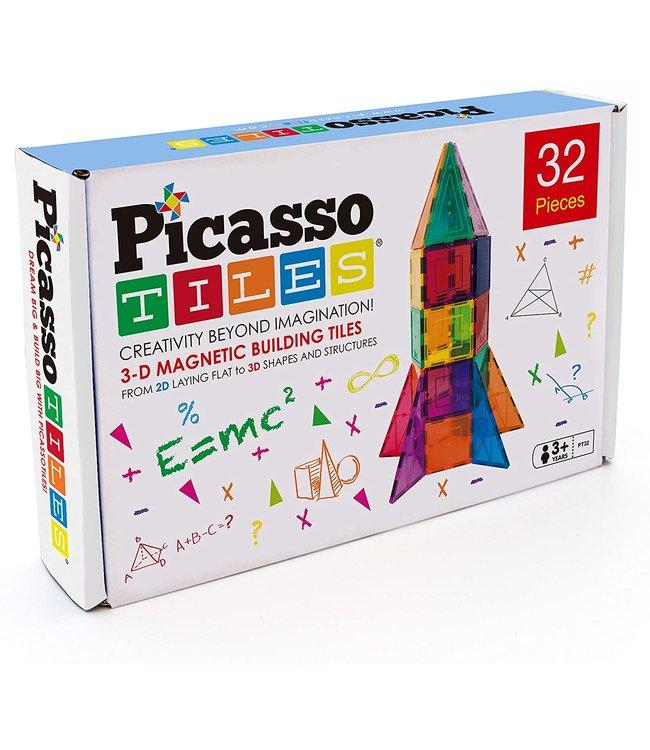 PicassoTiles Picasso Tiles 32 Rocket Set
