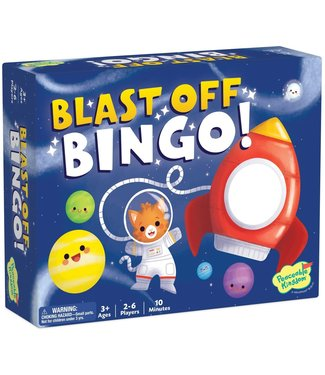 Peaceable Kingdom Blast off bingo