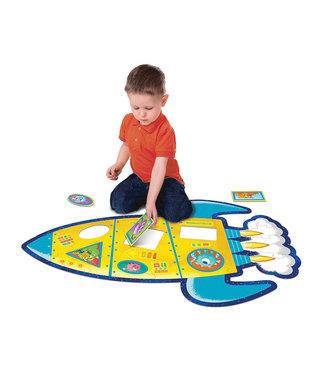 Peaceable Kingdom Rocket Floor Puzzle